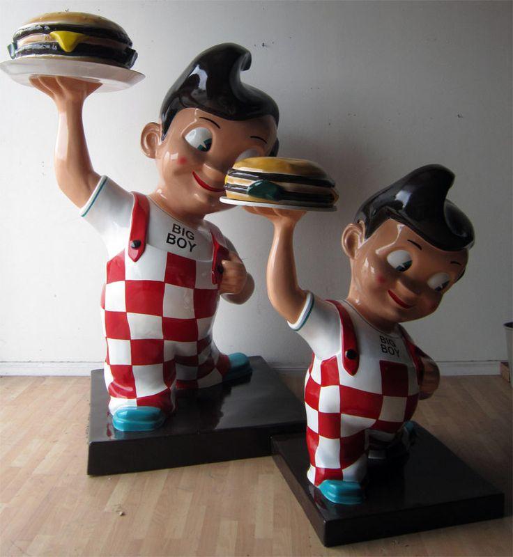 Bob S Big Boy Restaurant Figure 7 Foot Statue Bobsbigboy