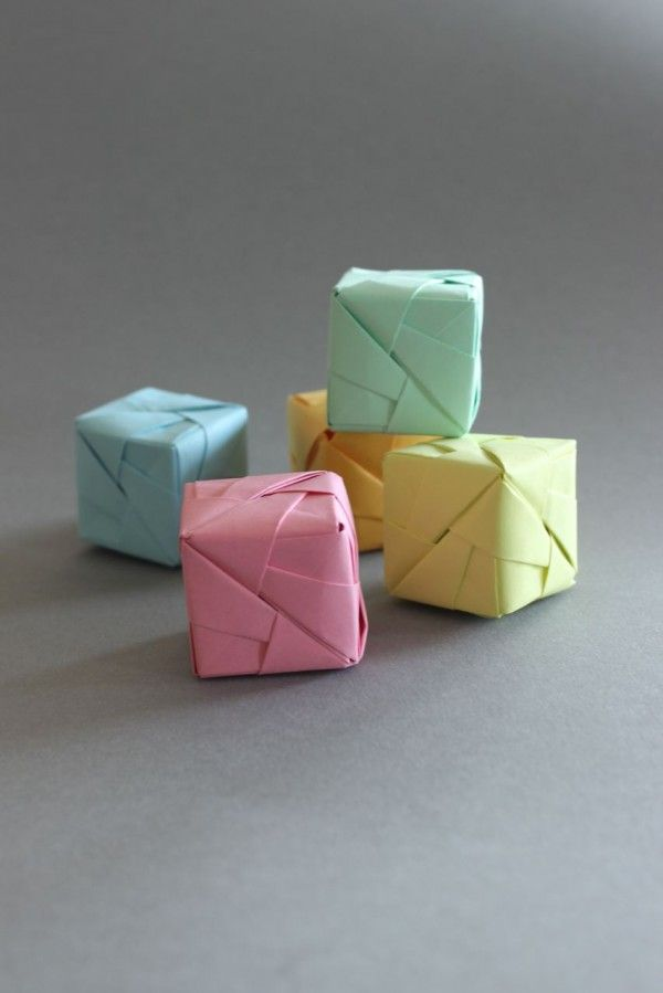 Assez Plus de 25 idées uniques dans la catégorie Origami cube sur  NT06