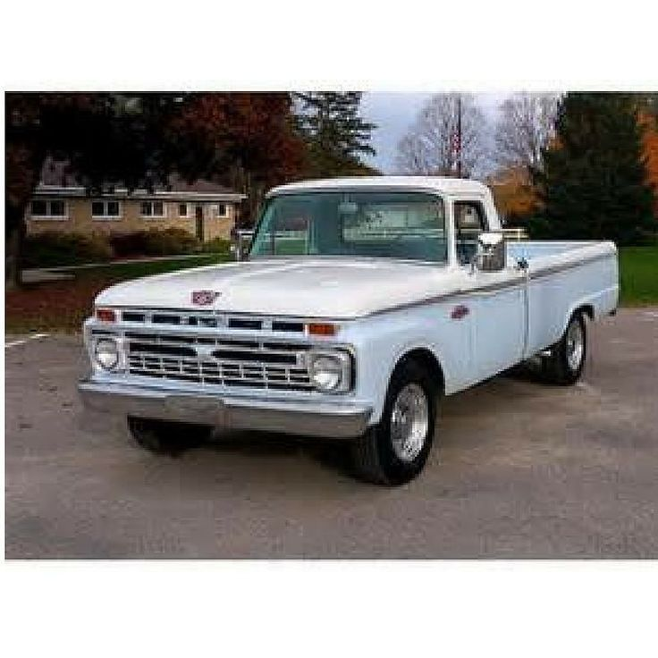 Sixties Sunday: Griffin Glover bought his 1966 Ford F-250 with his lawn mowing money!  #fordtrucks #fordf250 #ford #sixtiessunday #oldtrucks #lmctruck