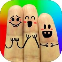 Cool Finger Faces - Create funny Pic for Instagram by Ki Tat Chung