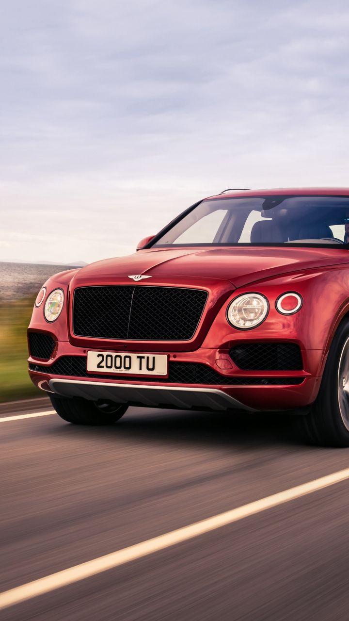 Luxury Vehicle Bentley Bentayga On Road Front 720x1280 Wallpaper Luxury Cars Bentley Vehicles