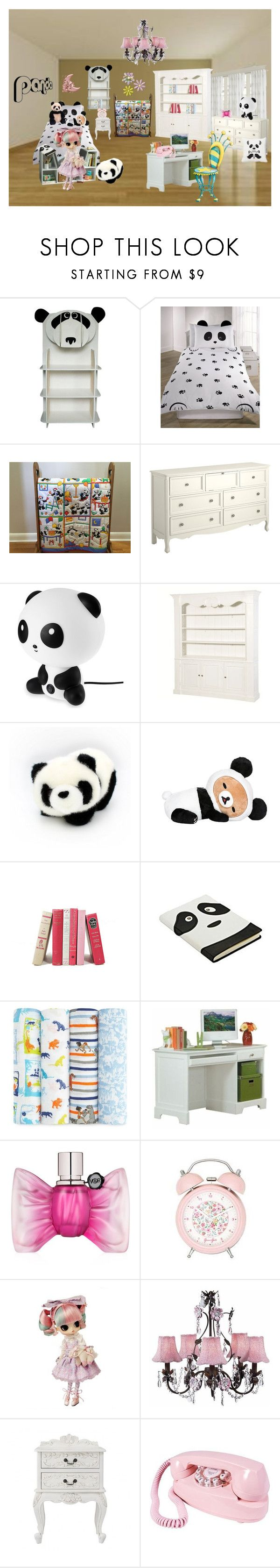 Hand Quilted Baby Quilt, Panda Baby Quilt, Unisex Baby Quilt by bamasbabes on Polyvore featuring Viktor & Rolf, Pier 1 Imports, Aden + Anais, Chandelier, Homelegance, New Look and Gund