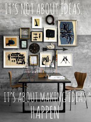 ideas and design