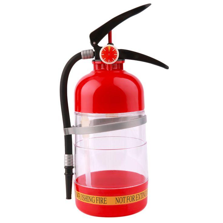 1Pc Fire Extinguisher Drink Shaker Liquor Pump Wine Beer Dispenser Machine