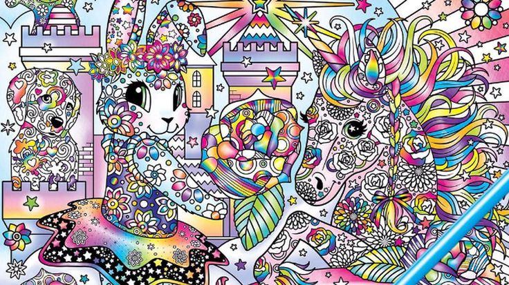 Available at Dollar General!!! Adult Lisa Frank Coloring book! :D