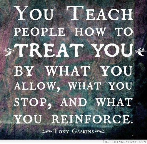 You teach people how to treat you...  this includes your kids and how you want them to treat you -- what you allow, stop & reinforce.