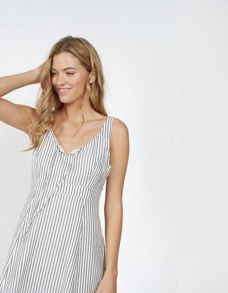 Christina Stripe Dress