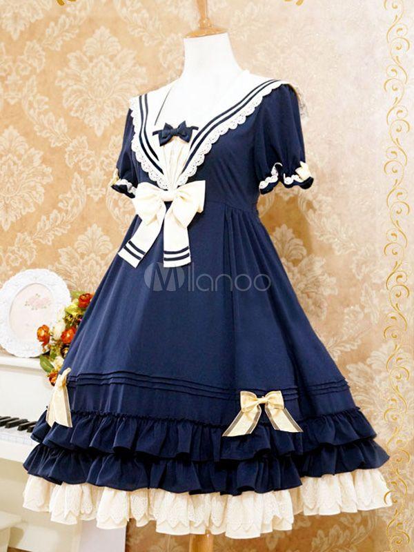 da49f34c786 Sweet Lolita Dress The Sails Of The Rhine Op Lolita One Piece Dress -  Milanoo.com