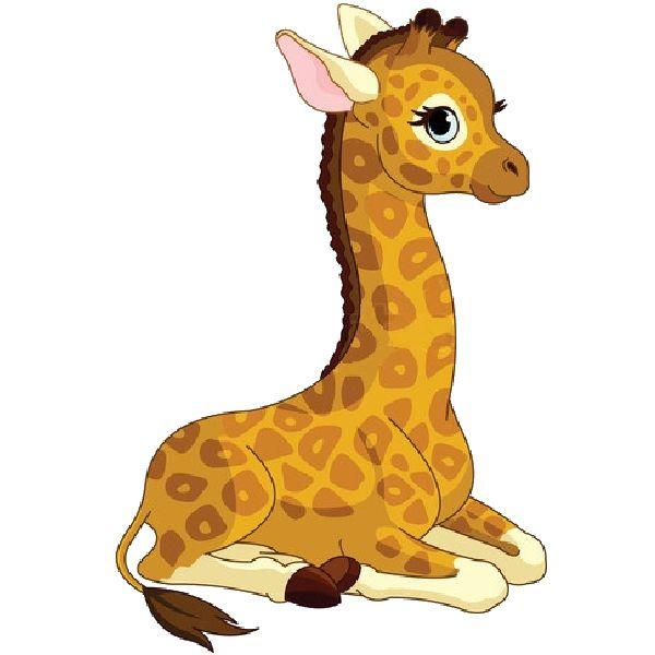 cute baby giraffe cartoon images giraffe cartoon animal clipart