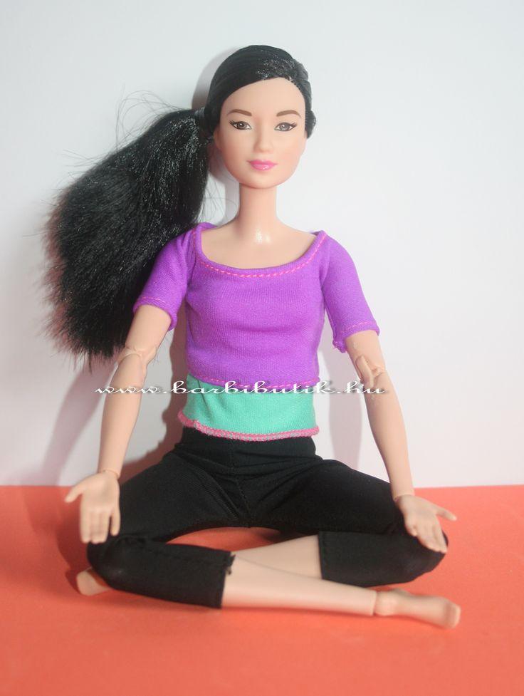 Jógázós Barbie