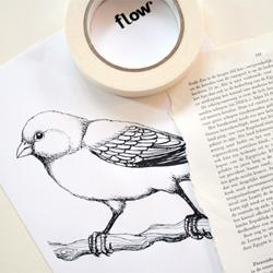 DIY - How to Print on Bookpages