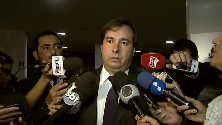 Maia diz que aprovação da reforma da Previdência vai reduzir a taxa de j...