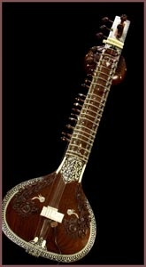 Sitar  The sitar is a plucked stringed instrument predominantly used in Hindustani classical music, where it has been ubiquitous since the Middle Ages. It derives its resonance from sympathetic strings, a long hollow neck and a gourd resonating chamber....