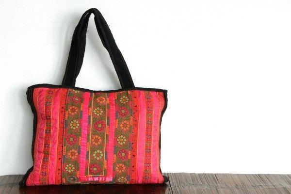 Idée cadeau saint valentin femme sac ethnique bandoulière ethnic bag fashion hobo bohemian