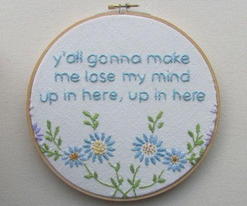 Pin by Amy on Yarns & Threads | Rap lyrics, Haha funny ...