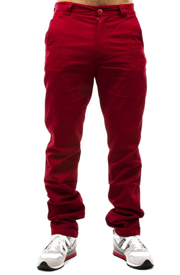 ArsnlThe Bryne Pants in Oxblood -