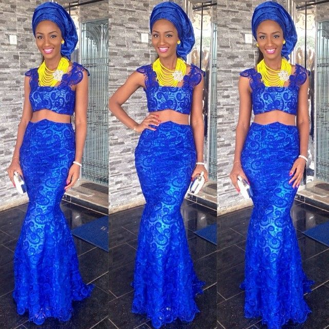 International aso ebi collection 2015 nigerian weddings 12 for Nigerian traditional wedding dresses