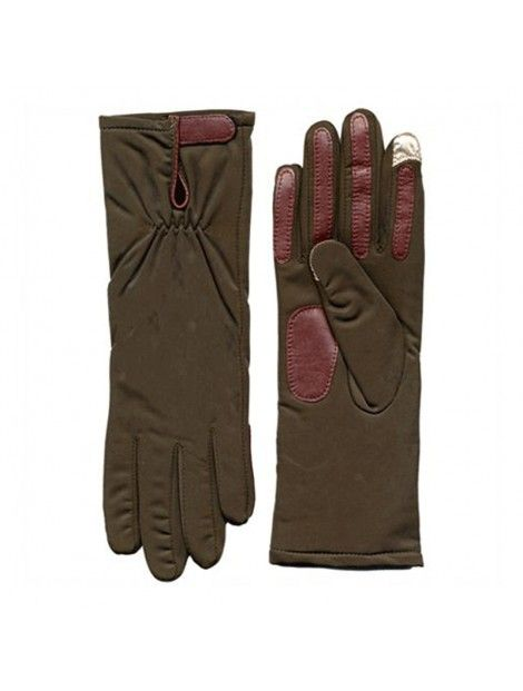 Brown Pleated #Gloves