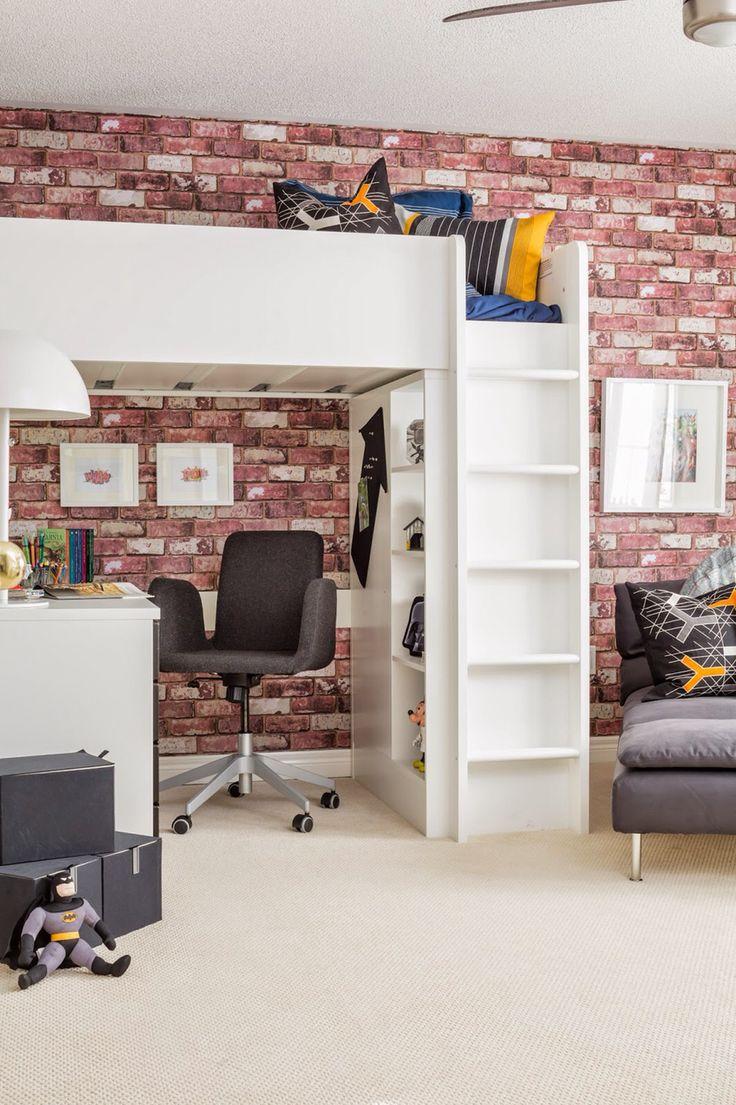 IKEA stuva loft bed Stuva loft bed, Loft bed, Boys loft beds