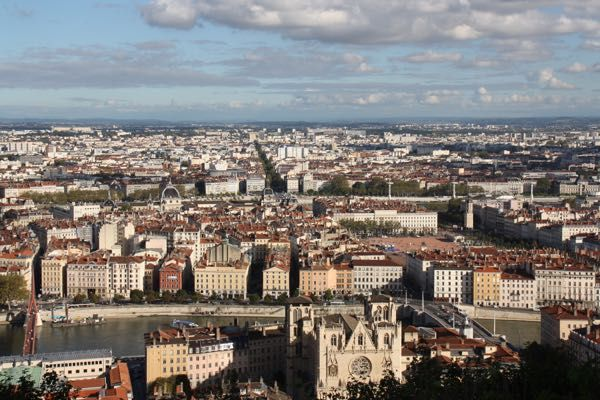 Soane River in Lyon, France. http://www.francetraveltips.com/4-boat-tours-experience-outside-paris/