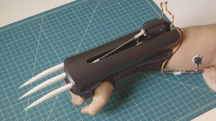 Jetzt kann jeder seine eigenen Wolverine artigen Klauen bauen dank der Wearable Muscle Sensor-Plattform. Das Projekt befindet sich auf Kickstarter, ist aber bereits vollständig finanziert. Das Tutorial um eigene Krallen zu bauen ist auf Makezine zu finden. Um die coolen Klauen bedienen zu können, sollte man einige Zeit für deren Zusammenbau einplanen. Viele der Teile [ ]