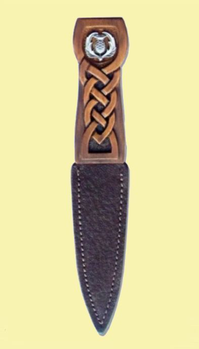 For Everything Genealogy - Scottish Thistle Disc Detail Knotwork Handle Leather Sheath Sgian Dubh, $90.00 (https://www.foreverythinggenealogy.com.au/scottish-thistle-disc-detail-knotwork-handle-leather-sheath-sgian-dubh/)