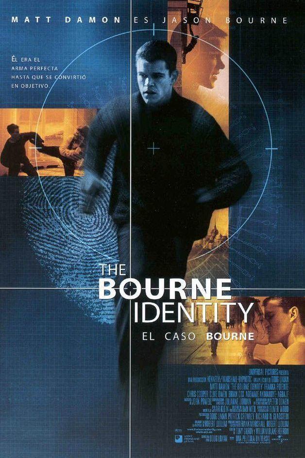 Póster The Bourne Identity: El caso Bourne
