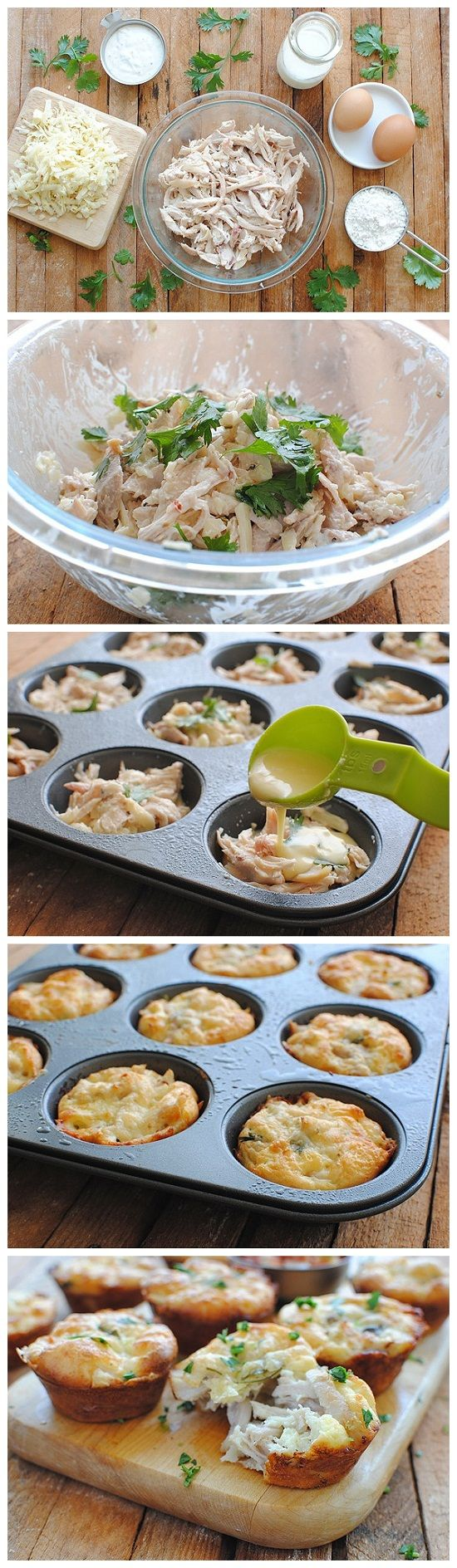 Mini Tex-Mex Chicken and Cheese Pies--replace with low carb biscuit mix