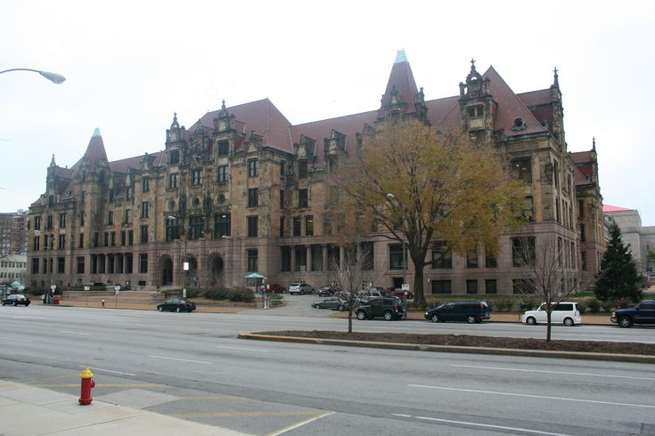 City Hall - City Landmark #29. City Hall is located at 1200 market Street. The design was inspired by City Hall of Paris, a French Renaissance design. The building was completed in 1898. The building is comprised of dressed granite, sandstone and brick.
