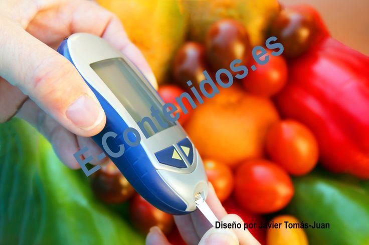 Informa sobre el control de la diabetes mediante marketing de contenidos.