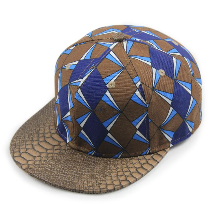 baseball cap design uk fashion geometric snakeskin pattern hip hop caps your own online template free