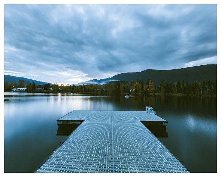 When the sun is down.  Blue River British Columbia  | Autumn 2016