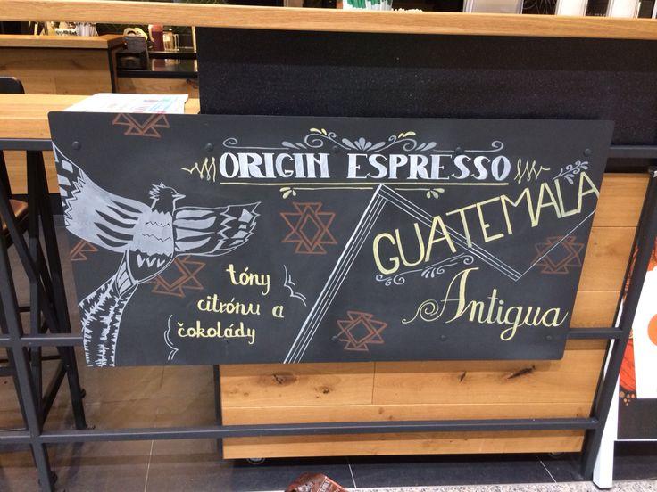 Chalkboard origin espresso