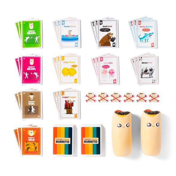Throw Throw Burrito Board Game In 2020 Board Games Card Games Gifts For Kids