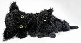 Poes Minoes en kitten Siep #gehaakt #haakpatroon #hakenisleuk #crochet #crochetpattern #häkeln #haken