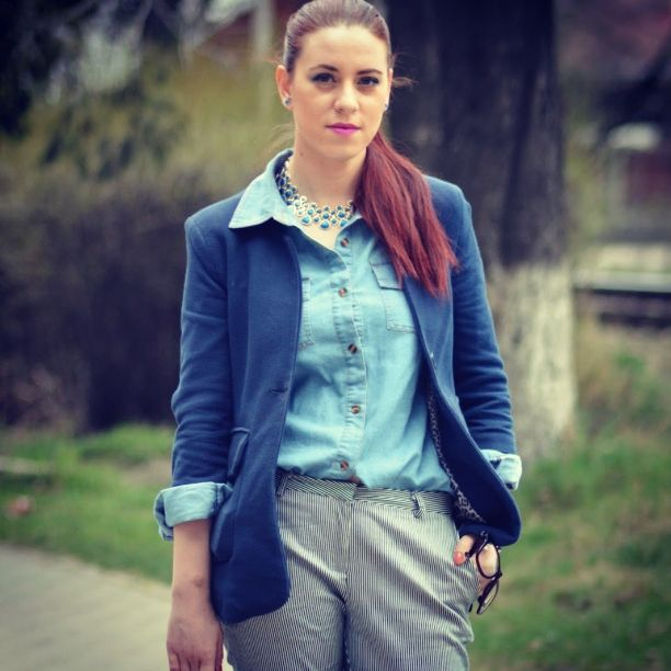 #denim #outfit #fashion #ootd #spring #springoutfit
