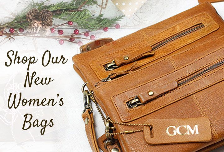 Shop Scaramanga's selection of hand crafted leather gifts that women will love!