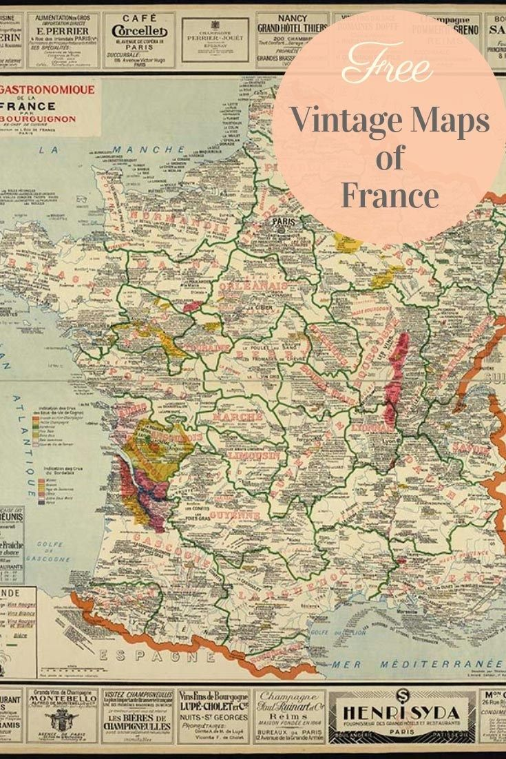 Download free france maps.