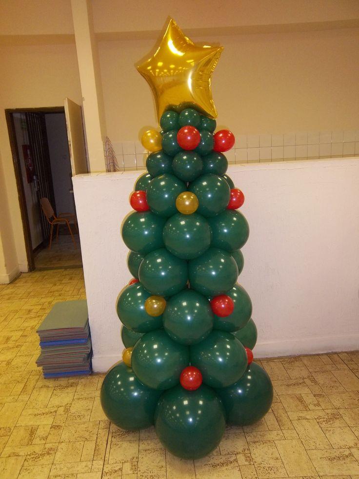 Balónový vianočný stromček 2 m