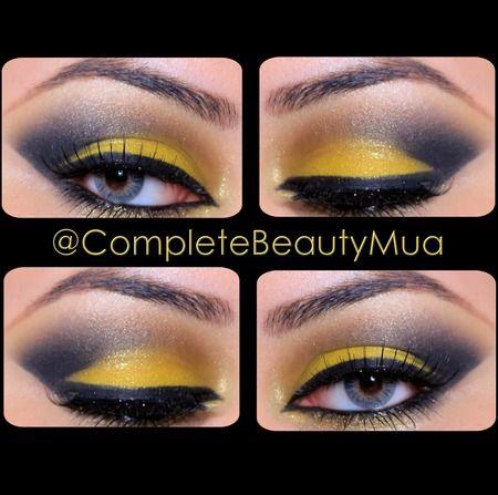 BLACK & YELLOW https://www.makeupbee.com/look.php?look_id=54017