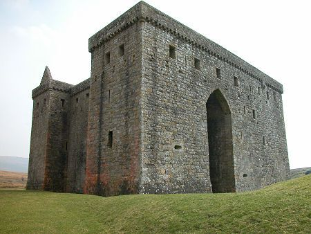 Hermitage Castle - has Armstrong history