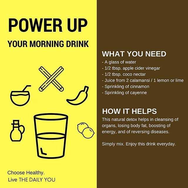 Boost your energy and maintain a healthy body with this power drink! #LiveTheDailyYou #ChooseDay #healthy #detox #acv #applecidevinegar #cinnamon #coconut #cayenne #lime #calamansi #drink #morning #ritual #habit #canva #design #art #infographic #DiscoverWP #blog #healthy #motivation