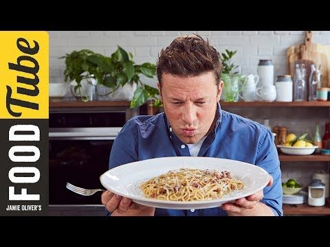 Jamie shows us how to make a truly authentic, traditional and classic Spaghetti Carbonara. The dish uses two traditional Italian ingredients; a cured meat ca...