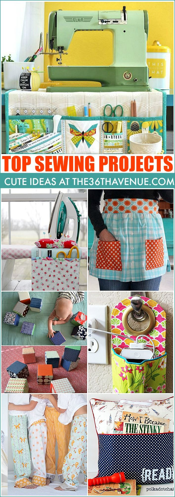 All of these sewing projects are so cute! I don't know which one I want to tackle first!