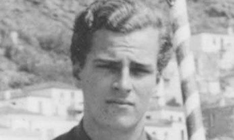 Un joven Patrick Leigh Fermor