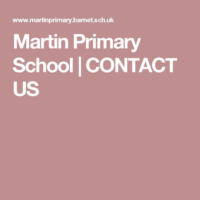 Martin Primary School | CONTACT US