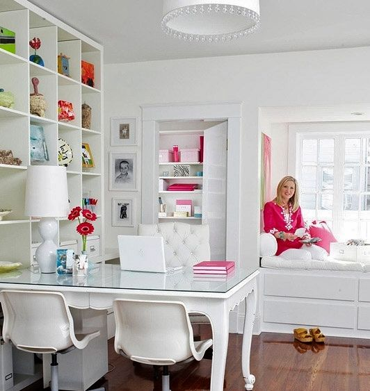 Classic Chic Home: Perfectly Pretty Craft Room Ideas