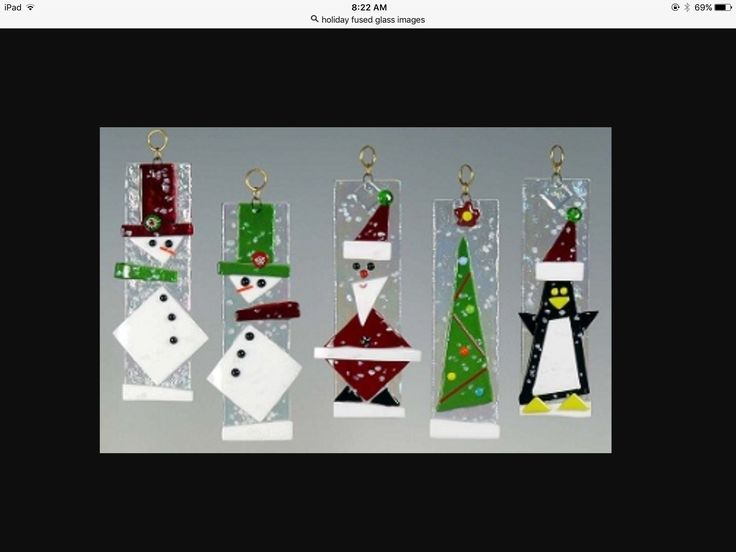 234 best Fused Glass  ChristmasWinter images on Pinterest