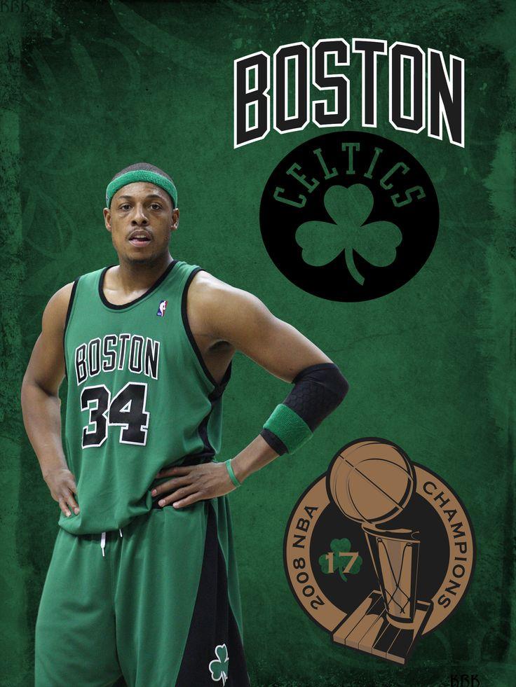boston celtics | Paul Pierce Boston Celtics by krkdesigns on DeviantArt