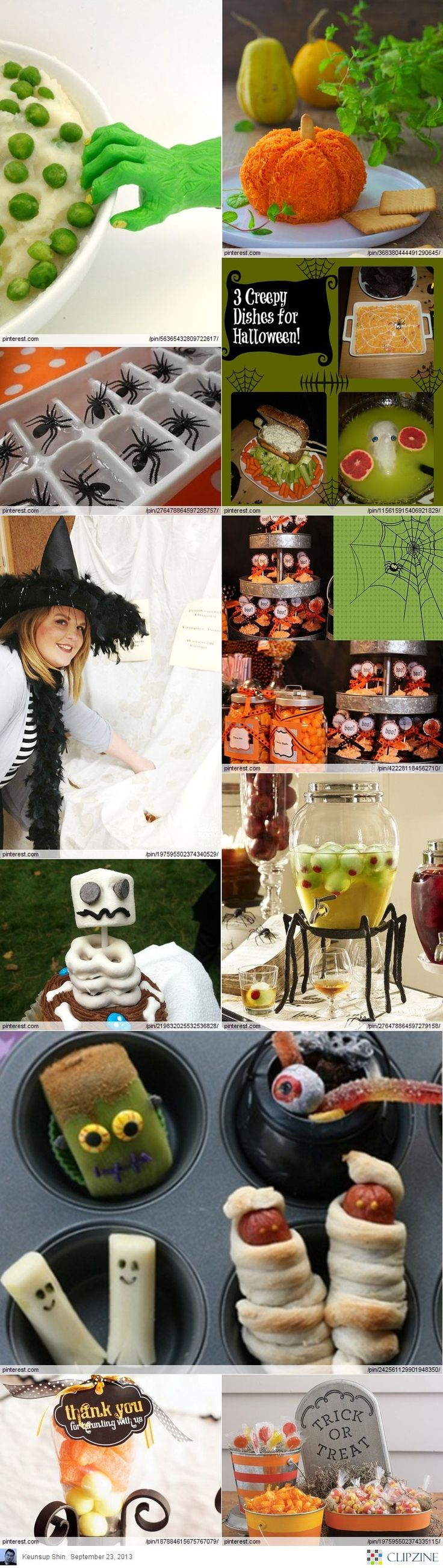 110 best Halloween party images on Pinterest